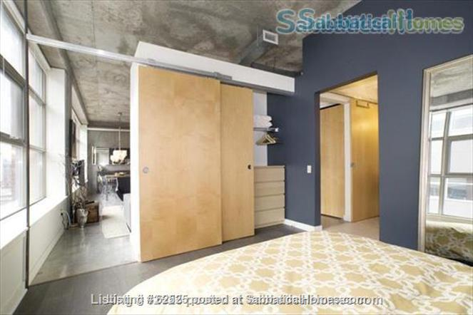 Furnished industrial Loft in Downtown Toronto, Fashion District Home Rental in Toronto 2