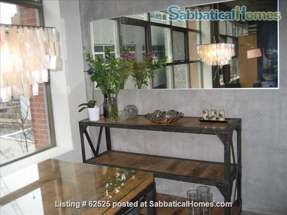 Furnished industrial Loft in Downtown Toronto, Fashion District Home Rental in Toronto 3
