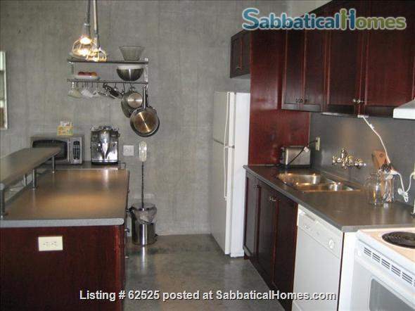 Furnished industrial Loft in Downtown Toronto, Fashion District Home Rental in Toronto 5