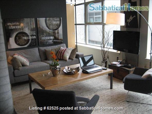 Furnished industrial Loft in Downtown Toronto, Fashion District Home Rental in Toronto 6
