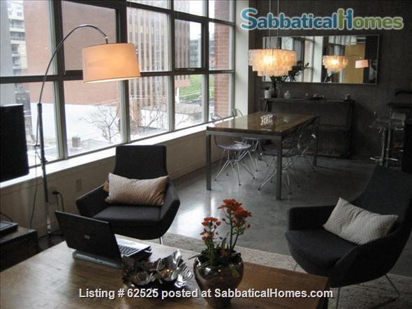 Furnished industrial Loft in Downtown Toronto, Fashion District Home Rental in Toronto 7