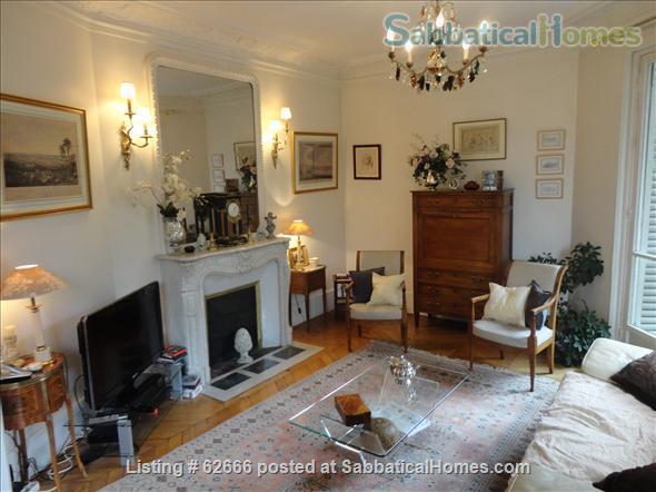 Paris 17th, Plaine Monceau, spacious, clear, sunny, 2 bdrms apmt Home Rental in Paris, IDF, France 1