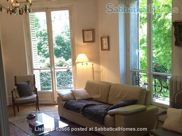 Paris 17th, Plaine Monceau, spacious, clear, sunny, 2 bdrms apmt Home Rental in Paris, IDF, France 0