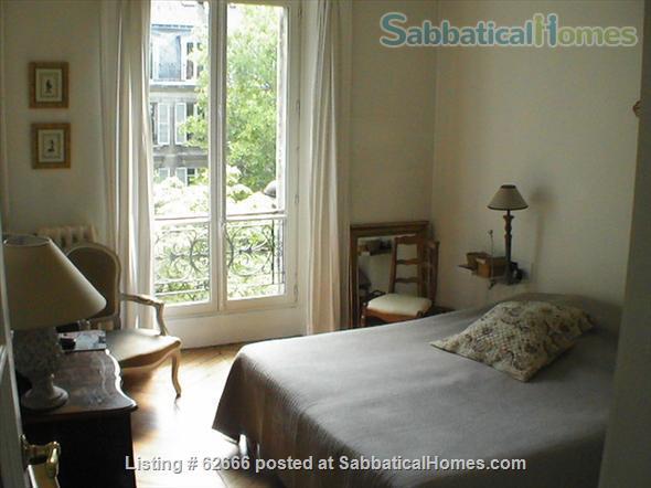 Paris 17th, Plaine Monceau, spacious, clear, sunny, 2 bdrms apmt Home Rental in Paris, IDF, France 5