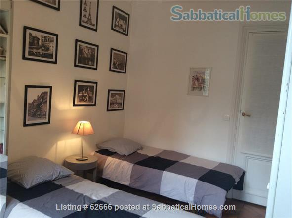 Paris 17th, Plaine Monceau, spacious, clear, sunny, 2 bdrms apmt Home Rental in Paris, IDF, France 6