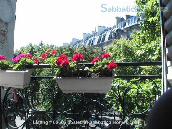 Paris 17th, Plaine Monceau, spacious, clear, sunny, 2 bdrms apmt Home Rental in Paris, IDF, France 8