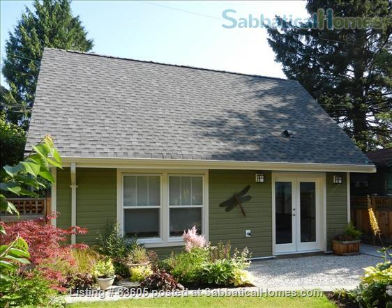 Private 1-bedroom Laneway House in Kitsilano, close to UBC Home Rental in Vancouver, British Columbia, Canada 1