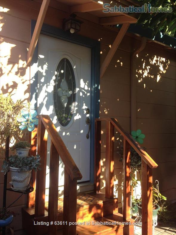 Lovely Berkeley cottage fully furnished for rent Home Exchange in Berkeley, California, United States 1
