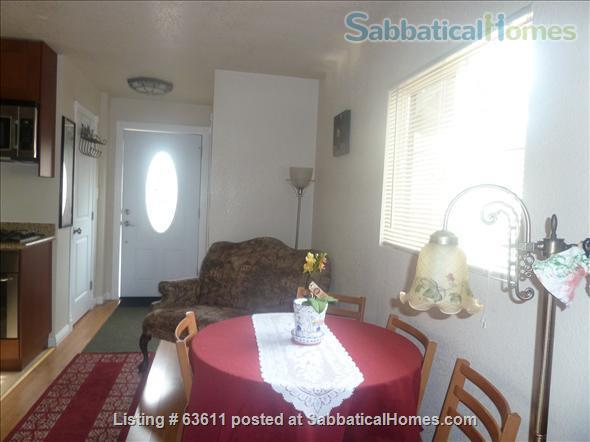 Lovely Berkeley cottage fully furnished for rent Home Exchange in Berkeley 5