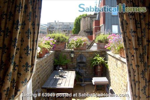 Central London two bedroom apartment in converted period warehouse Home Rental in Greater London, England, United Kingdom 1