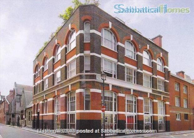 Central London two bedroom apartment in converted period warehouse Home Rental in Greater London, England, United Kingdom 0