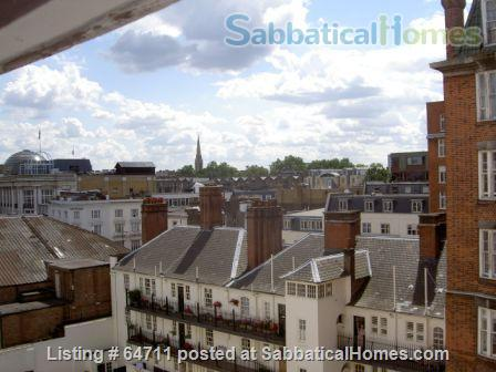Large apartment  (two bedrooms, one used as study) in Central London near Hyde Park Home Rental in London, England, United Kingdom 1