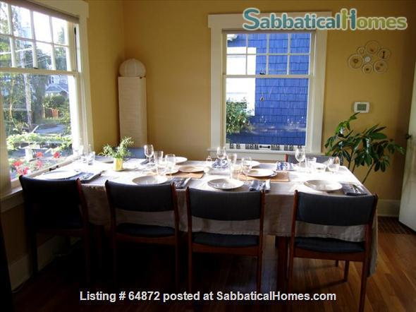 Beautiful + Furnished  home  close to UW and PLU Home Rental in Seattle 6