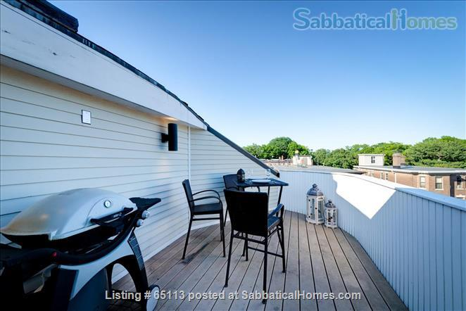 Furnished 4 bed / 2 bath condo with 1 parking spot in beautiful Brookline Home Rental in Brookline, Massachusetts, United States 1