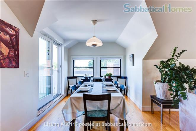Furnished 4 bed / 2 bath condo with 1 parking spot in beautiful Brookline Home Rental in Brookline, Massachusetts, United States 0