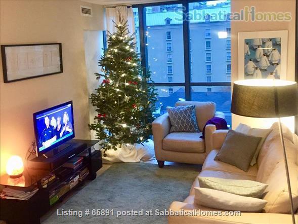 Family friendly downtown condo 2 bed+2 bath Home Rental in Toronto, Ontario, Canada 1