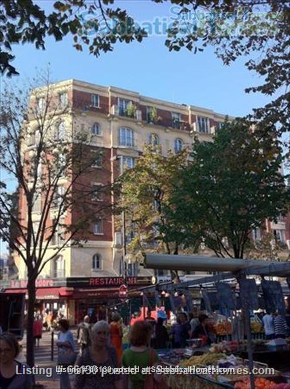 Elegant, remodeled apartment in Upper Belleville Village - Ideal for 2 Home Rental in Paris, IDF, France 9