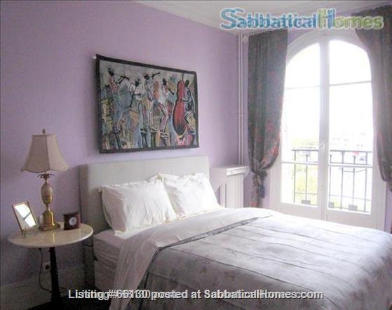 Elegant, remodeled apartment in Upper Belleville Village - Ideal for 2 Home Rental in Paris, IDF, France 1