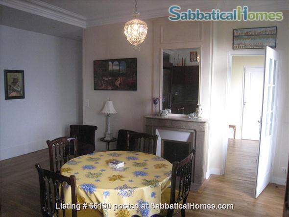Elegant, remodeled apartment in Upper Belleville Village - Ideal for 2 Home Rental in Paris, IDF, France 2