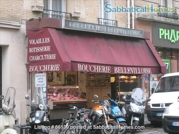 Elegant, remodeled apartment in Upper Belleville Village - Ideal for 2 Home Rental in Paris, IDF, France 7