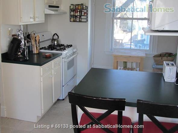 Spacious, Sunny, 2 bdrm, furnished duplex Cambridge apt. - available  May 15,  2021 Home Rental in Cambridge, Massachusetts, United States 3