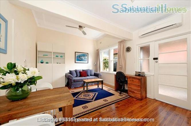 Lovely light one bedroom fully furnished apartment, only 7kms from Sydney city centre - Haberfield (Inner West) Home Rental in Haberfield, NSW, Australia 3
