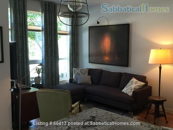 Quiet yet cool location, a home away from home. Walk to U/T and hospitals. Home Rental in Toronto, Ontario, Canada 1