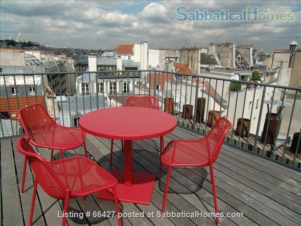 Unique apt with deck & spectacular views in heart of Paris Home Rental in Paris, Île-de-France, France 1