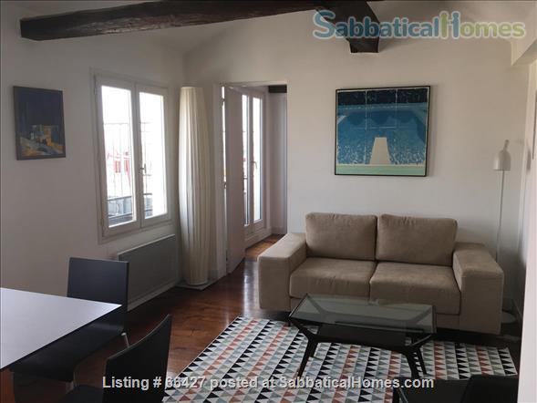 Unique apt with deck & spectacular views in heart of Paris Home Rental in Paris, Île-de-France, France 2