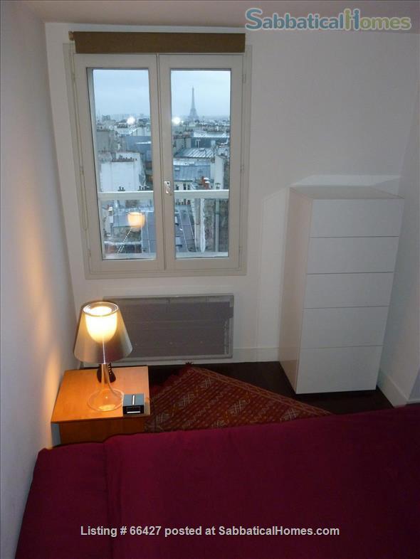 Unique apt with deck & spectacular views in heart of Paris Home Rental in Paris, Île-de-France, France 6