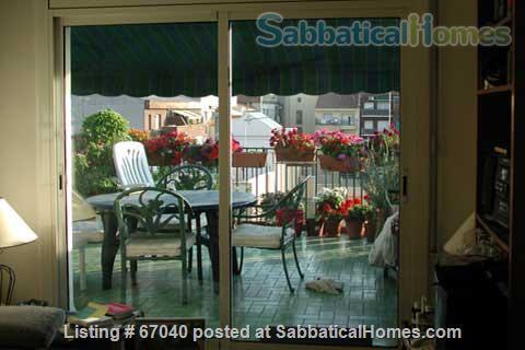 Barcelona Penthouse with Terrace near Overlooking Glorias Home Exchange in Barcelona, Catalunya, Spain 1