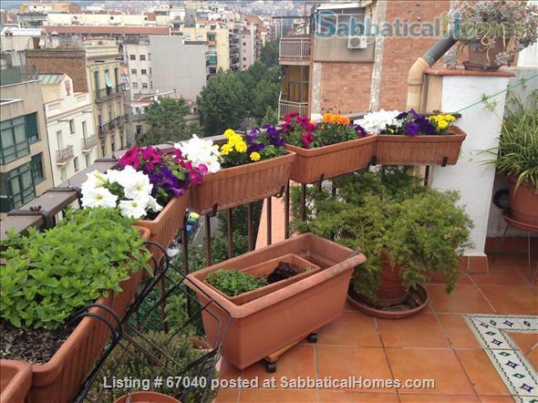 Barcelona Penthouse with Terrace near Overlooking Glorias Home Exchange in Barcelona, Catalunya, Spain 6