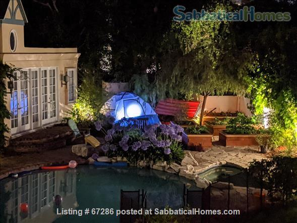 PRIVATE NEWLY REMODELED with A/C and W/D:  QUIET,  Pool House, walk to IPAM and UCLA, Century City and Bev Hills Home Rental in Los Angeles, California, United States 0