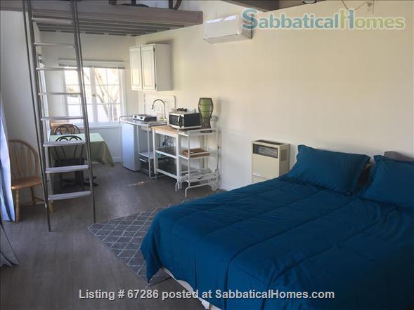 PRIVATE NEWLY REMODELED with A/C and W/D:  QUIET,  Pool House, walk to IPAM and UCLA, Century City and Bev Hills Home Rental in Los Angeles, California, United States 3