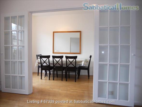 Light,  spacious, central London 2-floor apartment.  Superb transport links. Home Rental in London, England, United Kingdom 1