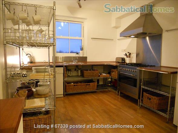 Light,  spacious, central London 2-floor apartment.  Superb transport links. Home Rental in London, England, United Kingdom 0