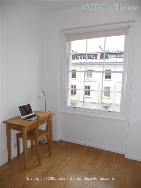 Light,  spacious, central London 2-floor apartment.  Superb transport links. Home Rental in London, England, United Kingdom 2