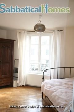 Beautiful Parisian apt next to Buttes Chaumont park  Home Rental in Paris, Île-de-France, France 1