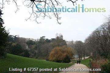Beautiful Parisian apt next to Buttes Chaumont park  Home Rental in Paris, Île-de-France, France 6