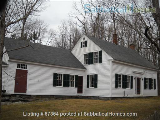 Scenic, fully restored 1841 Farmhouse on 10 acres Home Rental in Petersham, Massachusetts, United States 1