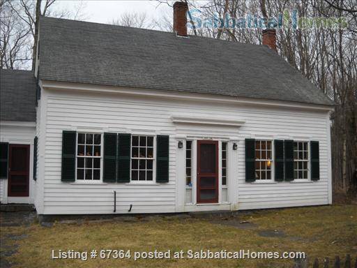 Scenic, fully restored 1841 Farmhouse on 10 acres Home Rental in Petersham, Massachusetts, United States 0