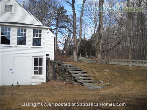 Scenic, fully restored 1841 Farmhouse on 10 acres Home Rental in Petersham, Massachusetts, United States 2