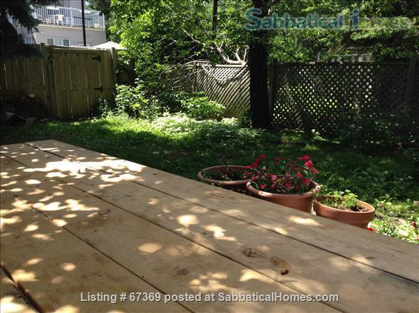 Beautiful 4 bedroom Mile End Montreal house with sunny backyard next to park Home Rental in Montréal, Québec, Canada 9
