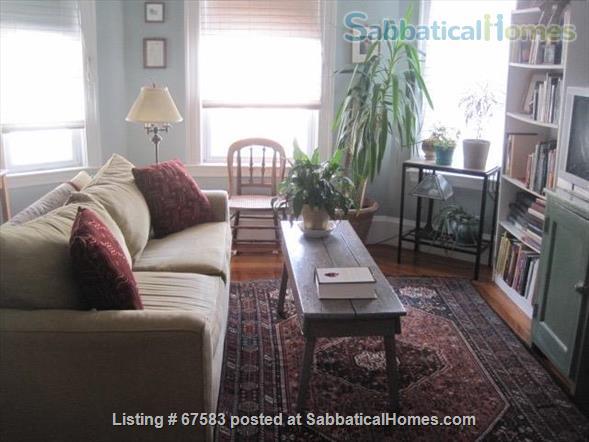Sunny, quiet 2-bedroom apartment in top floor of Somerville Victorian. Home Rental in Somerville, Massachusetts, United States 5