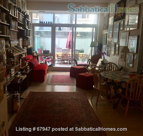 """MANHATTAN'S """"HOT"""" FINANCIAL DISTRICT: Large, quiet  modern1 bedroom apt with huge private terrace! Home Rental in New York, New York, United States 1"""