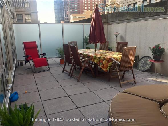 """MANHATTAN'S """"HOT"""" FINANCIAL DISTRICT: Large, quiet  modern1 bedroom apt with huge private terrace! Home Rental in New York, New York, United States 5"""