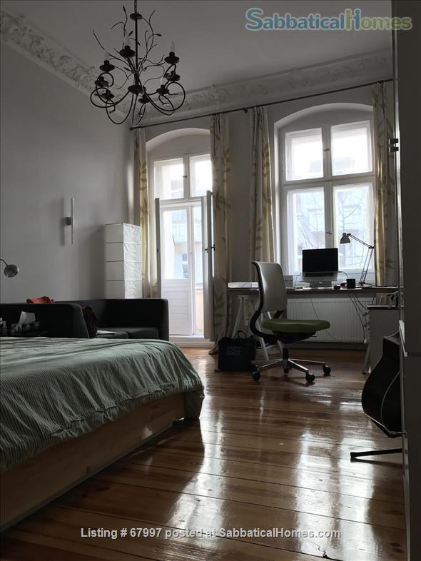 "Beautiful apartment in Berlin Friedrichshain (""Altbau"" with piano, 2 balconies, high ceilings etc.) Home Rental in Berlin, Berlin, Germany 0"