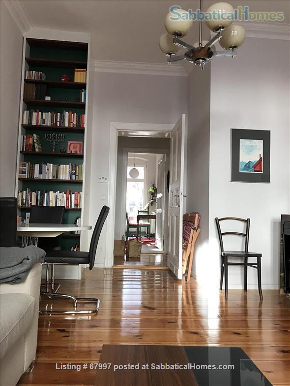 "Beautiful apartment in Berlin Friedrichshain (""Altbau"" with piano, 2 balconies, high ceilings etc.) Home Rental in Berlin, Berlin, Germany 4"