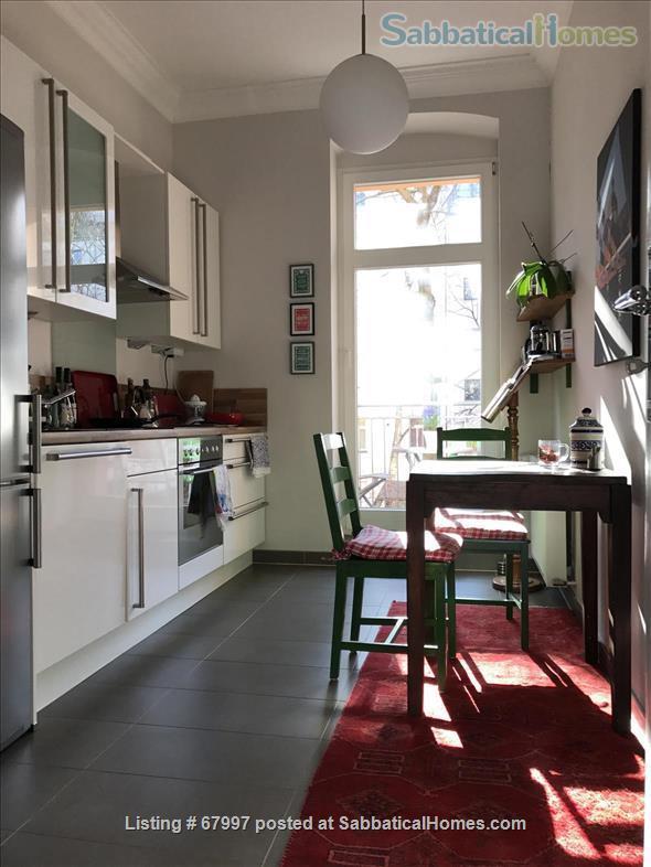 "Beautiful apartment in Berlin Friedrichshain (""Altbau"" with piano, 2 balconies, high ceilings etc.) Home Rental in Berlin, Berlin, Germany 5"