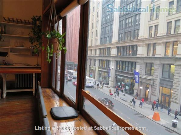Classic Manhattan Loft w/ view and large outdoor terrace Home Rental in New York, New York, United States 3